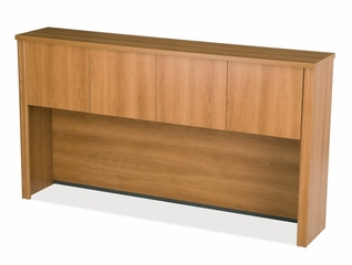 Hutch for Credenza in Cappuccino Cherry - Embassy - Bestar Office Furniture - 60520-68