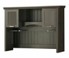 Hutch in Spice Wood/Ebony - South Shore Furniture - 7378074