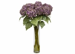 Hydrangea Silk Flower Arrangement - Nearly Natural - 1221-PP