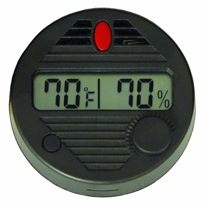 HygroSet II Adjustable Digital Hygrometer - DHYG-ROUND