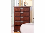 Hyland Dark Cherry Drawer Chest - 202245