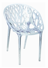 Ice Chair in Clear - PC-597