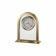 Imperial Brass Table Clock - Howard Miller