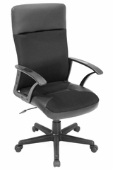 Imperial High Back Leather Swivel Chair - 1000BK