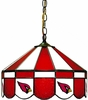 "Imperial International Arizona Cardinals 16"" Glass Lamp"
