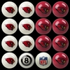Imperial International Arizona Cardinals Home Versus Away Billiard Ball Set