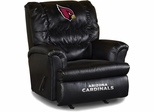 Imperial International Arizona Cardinals Leather Big Daddy Recliner