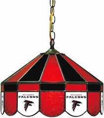 "Imperial International Atlanta Falcons 16"" Glass Lamp"
