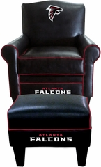 Imperial International Atlanta Falcons Game Time Chair & Ottoman