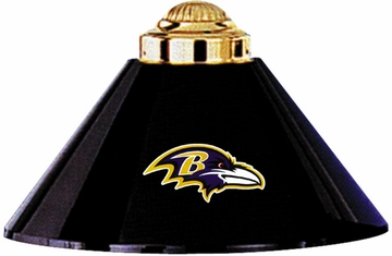Imperial International Baltimore Ravens 3 Shade Metal Lamp