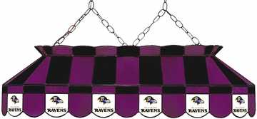 "Imperial International Baltimore Ravens 40"" Glass Lamp"