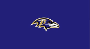 Imperial International Baltimore Ravens 8' Billiard Cloth