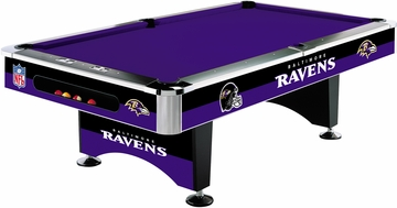 Imperial International Baltimore Ravens 8' Pool Table
