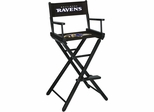 Imperial International Baltimore Ravens Bar Height Directors Chair