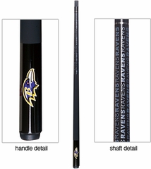 Imperial International Baltimore Ravens Billiard Cue Stick