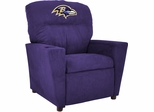 Imperial International Baltimore Ravens Kids Microfiber Recliner