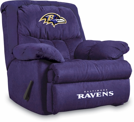 Imperial International Baltimore Ravens Microfiber Home Team Recliner