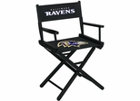 Imperial International Baltimore Ravens Table Height Directors Chair