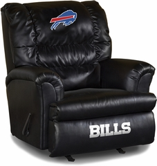 Imperial International Buffalo Bills Leather Big Daddy Recliner