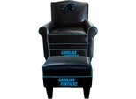 Imperial International Carolina Panthers Game Time Chair & Ottoman