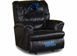 Imperial International Carolina Panthers Leather Big Daddy Recliner