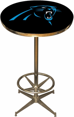 Imperial International Carolina Panthers Pub Table