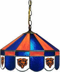 "Imperial International Chicago Bears 16"" Glass Lamp"