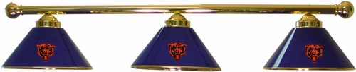 Imperial International Chicago Bears 3 Shade Metal Lamp