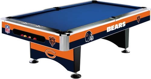 Imperial International Chicago Bears 8' Pool Table