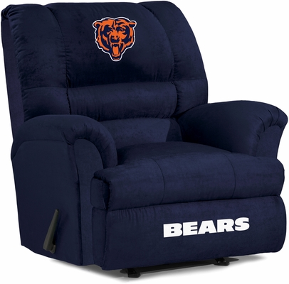 Imperial International Chicago Bears Big Daddy Microfiber Recliner