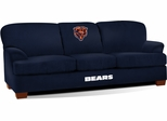 Imperial International Chicago Bears First Team Microfiber Sofa