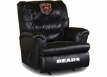 Imperial International Chicago Bears Leather Big Daddy Recliner