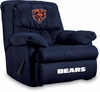 Imperial International Chicago Bears Microfiber Home Team Recliner