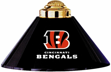 Imperial International Cincinnati Bengals 3 Shade Metal Lamp