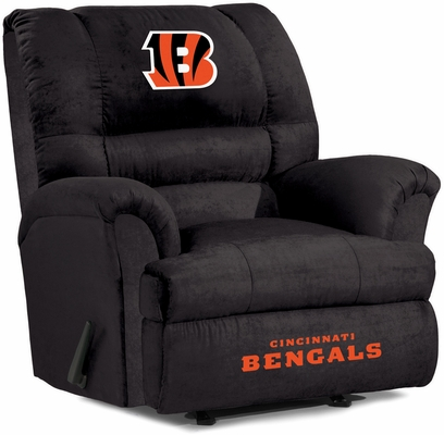 Imperial International Cincinnati Bengals Big Daddy Microfiber Recliner