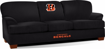 Imperial International Cincinnati Bengals First Team Microfiber Sofa