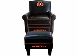 Imperial International Cincinnati Bengals Game Time Chair & Ottoman