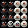 Imperial International Cincinnati Bengals Home Versus Away Billiard Ball Set