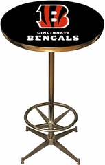 Imperial International Cincinnati Bengals Pub Table