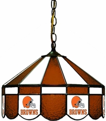 "Imperial International Cleveland Browns 16"" Glass Lamp"