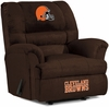 Imperial International Cleveland Browns Big Daddy Microfiber Recliner