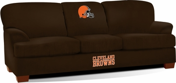 Imperial International Cleveland Browns First Team Microfiber Sofa