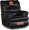 Imperial International Cleveland Browns Leather Big Daddy Recliner