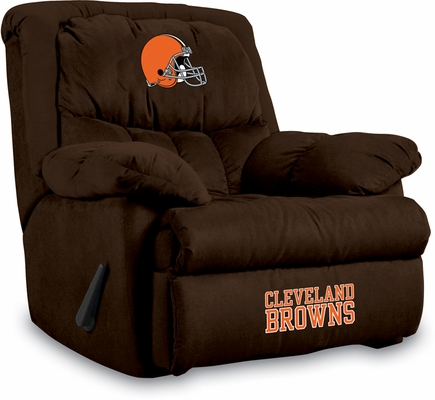 Imperial International Cleveland Browns Microfiber Home Team Recliner