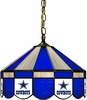 "Imperial International Dallas Cowboys 16"" Glass Lamp"