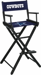 Imperial International Dallas Cowboys Bar Height Directors Chair