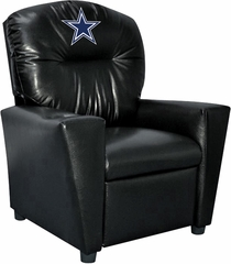 Imperial International Dallas Cowboys Faux Leather Kids Recliner