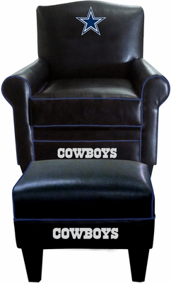 Imperial International Dallas Cowboys Game Time Chair & Ottoman