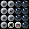 Imperial International Dallas Cowboys Home Versus Away Billiard Ball Set