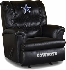 Imperial International Dallas Cowboys Leather Big Daddy Recliner